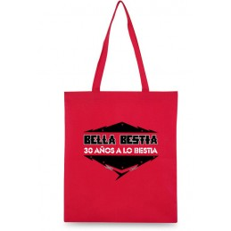 BURDEN BAG ROJO BELLA BESTIA